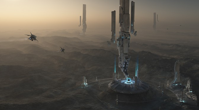 Matte Painting Forerunner Base