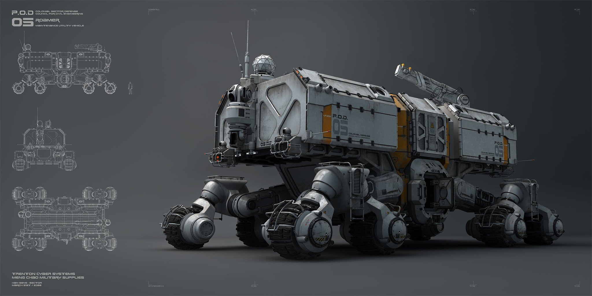 ROAMER - High resolution vehicle