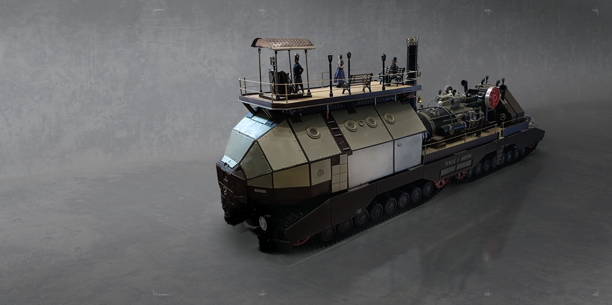 Scale Model - Traptor front