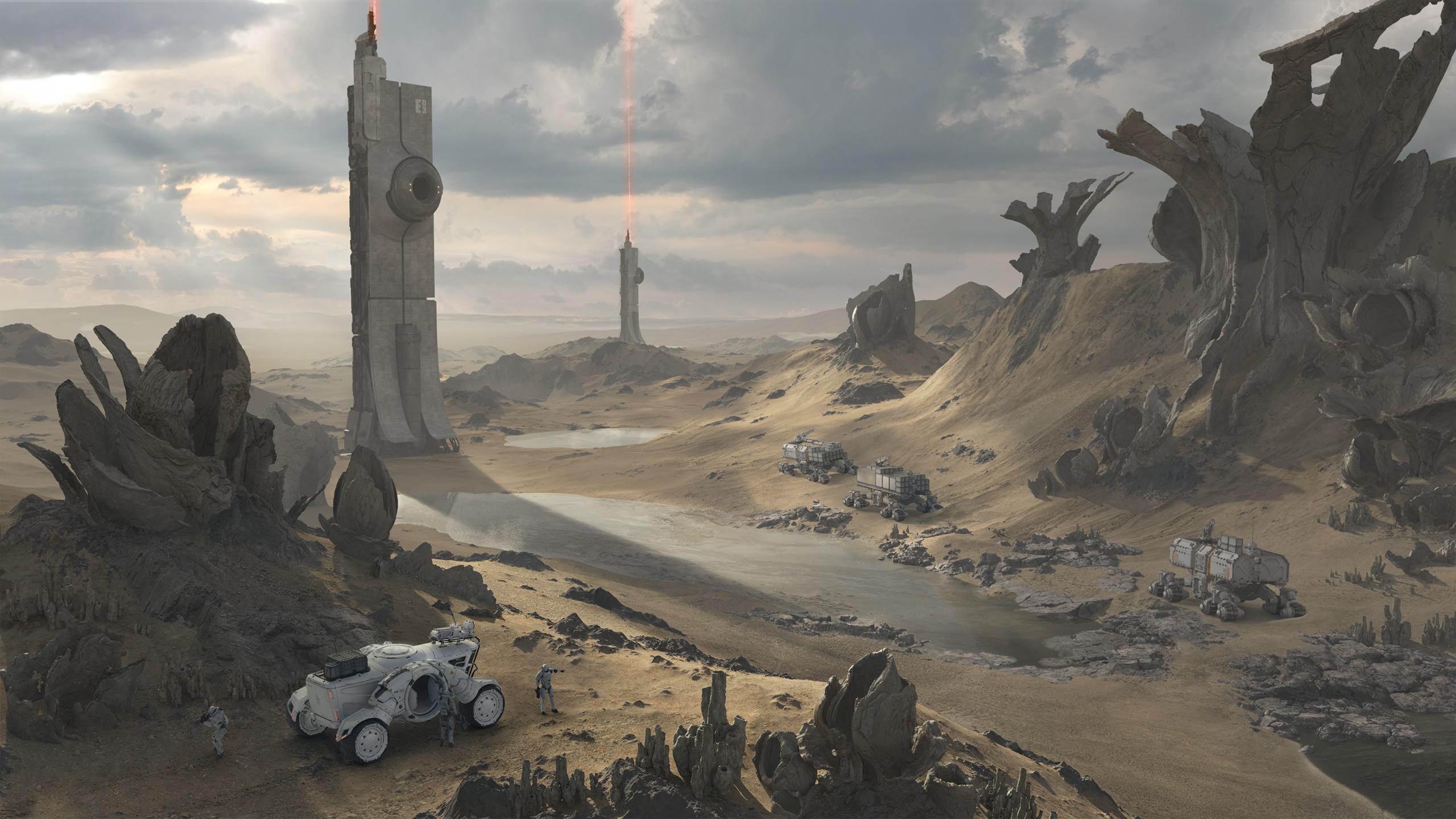 Alien Waterworld Convoy